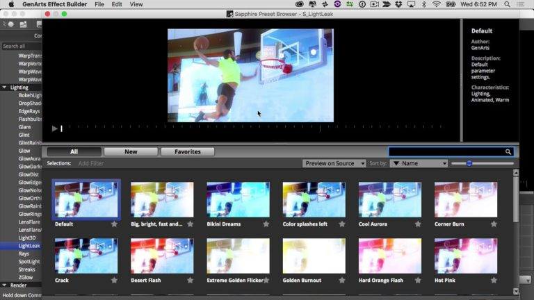 Creating Custom Motion Graphics in Avid Media Composer with Sapphire