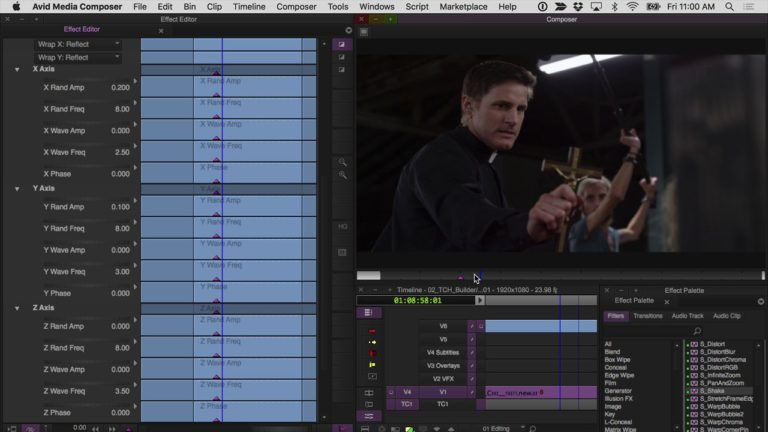 Creating Feature Film VFX with Sapphire for Avid Media Composer