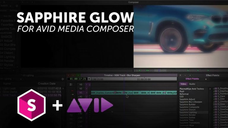 Sapphire Light Effects for Avid Media Composer – Glow