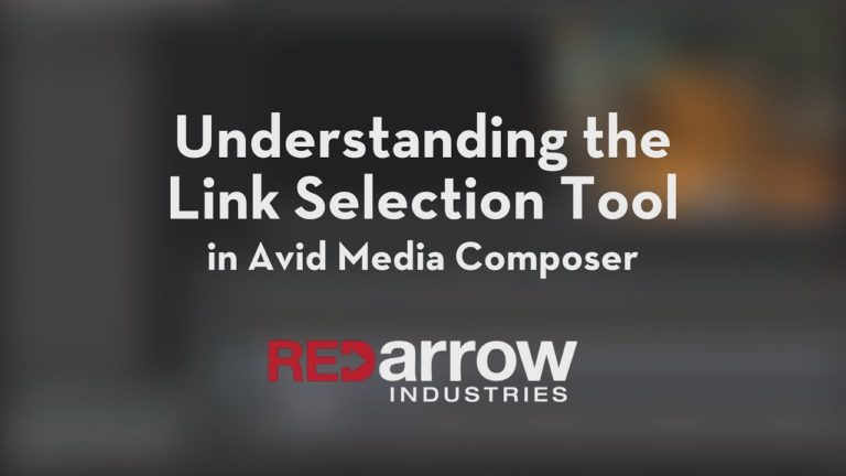 Understanding the Link Selection Tool in Avid Media Composer