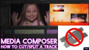 Media Composer 2018 | How to Cut/Split a Clip [No Razor, Add Edit]