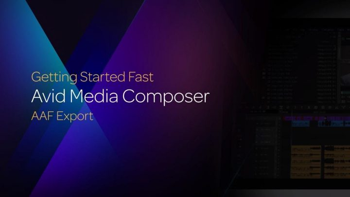 AAF Export in Media Composer