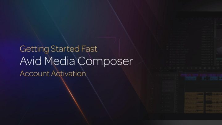 Account Activation for Media Composer