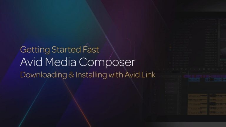 Downloading & Installing with Avid Link