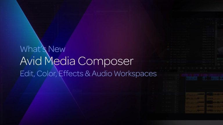 Edit, Color, Effects & Audio Workspaces
