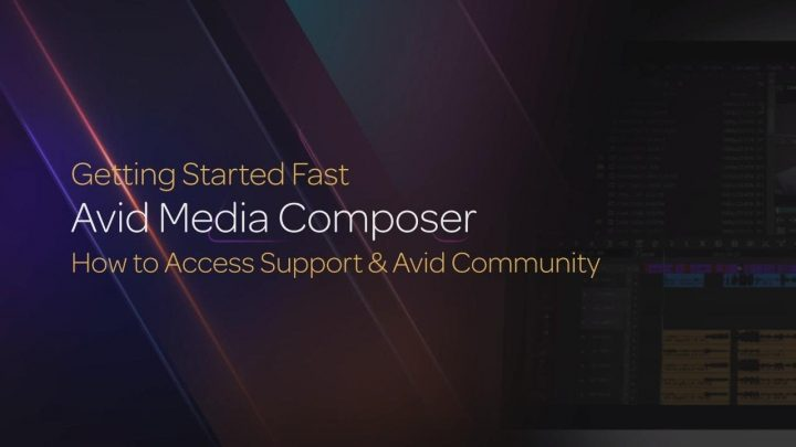 How to Access Support & Avid Community