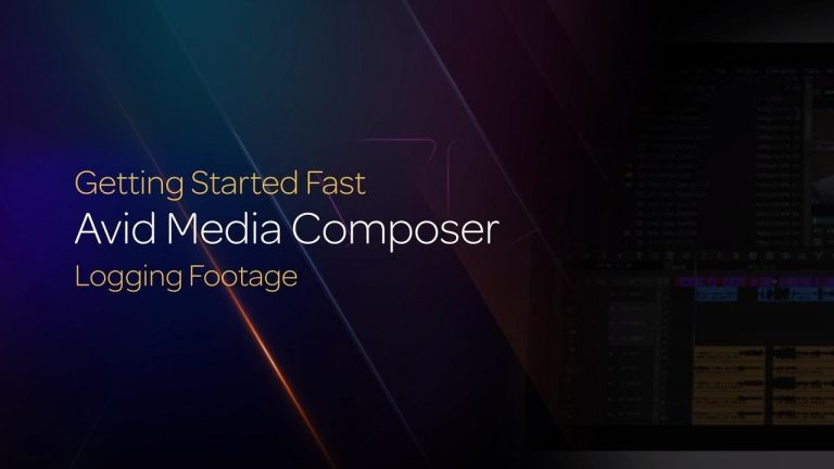 Logging Footage in Media Composer