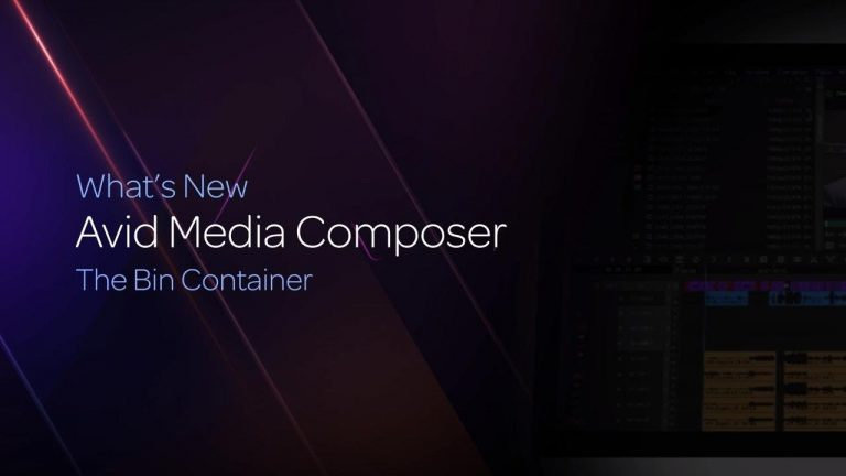 The Bin Container in Media Composer