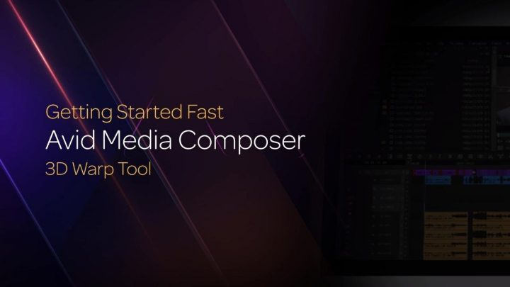 The Media Composer 3D Warp Tool