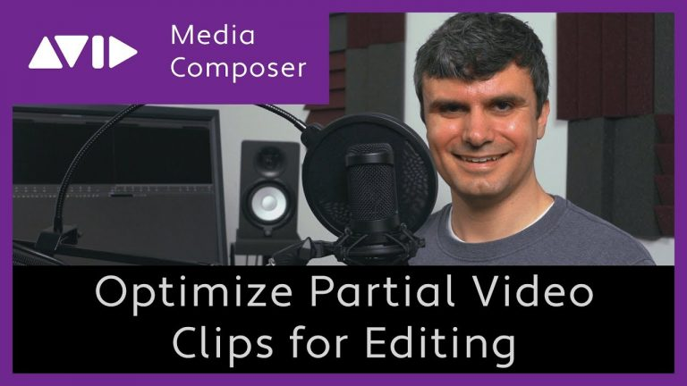 Avid Media Composer – Optimize Partial Subclips for Video Editing