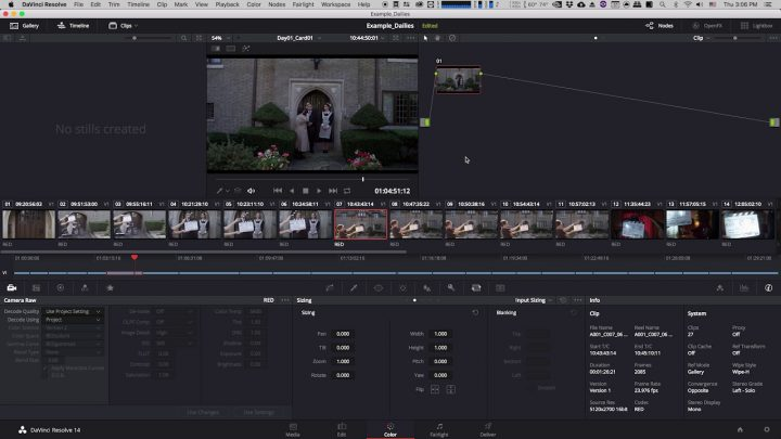 Creating Dailies in Davinci Resolve for Avid Media Composer (Part 2/7)