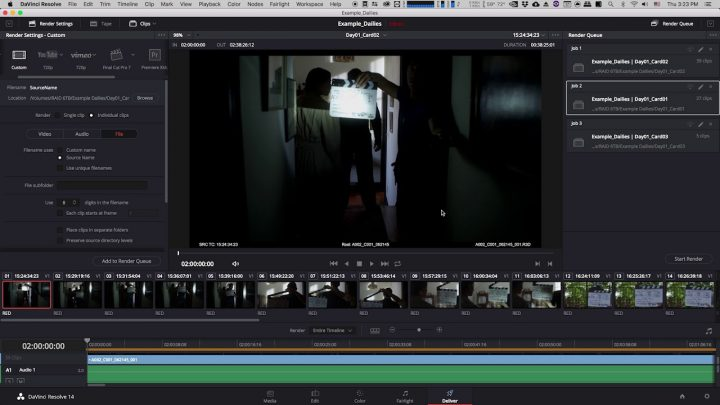Creating Dailies in Davinci Resolve for Avid Media Composer (Part 3/7)