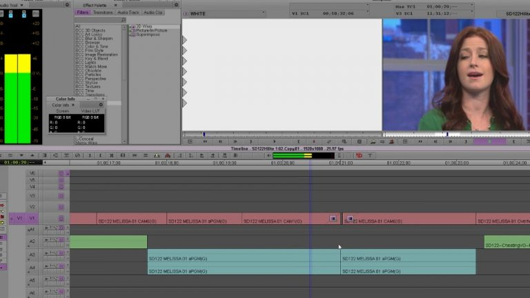 Best Way To Make Dips To Black and White Flashes in AVID