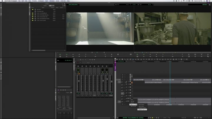 Automating Audio and Stuff – AVID Media Composer 2019