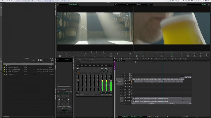 Editing on the Fly Avid Media Composer 2019