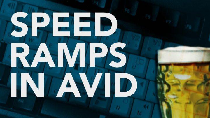 Speed Ramping in AVID