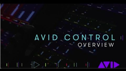 Avid Control App Overview