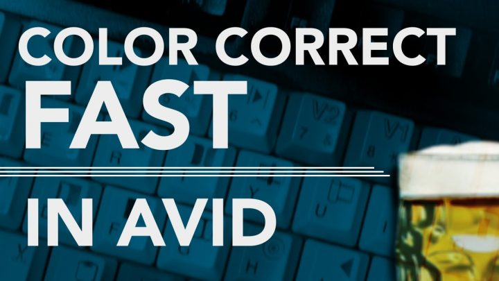 Color Correct Fast in AVID