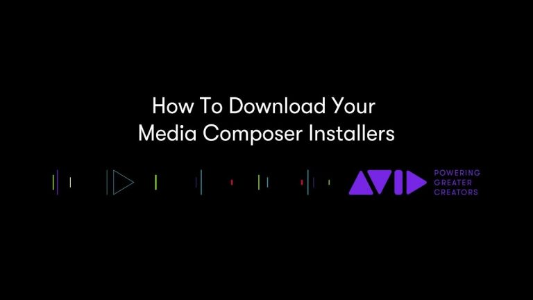 How To Download Avid Media Composer Installers