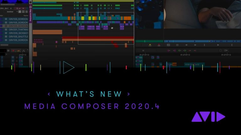 What's New in Media Composer 2020.4