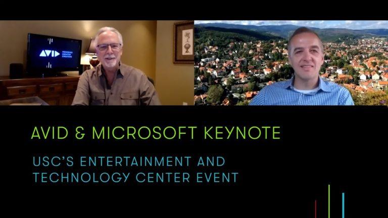 Avid & Microsoft Keynote