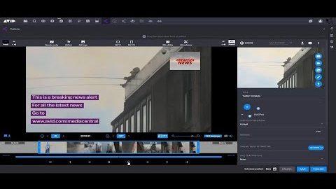 Avid News 2020 — Ingest App