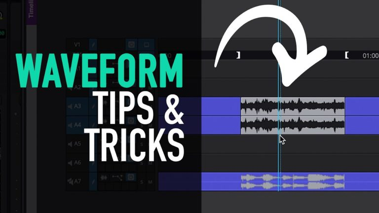 Waveform and Clip Gain Tips – Avid Media Composer Tutorial
