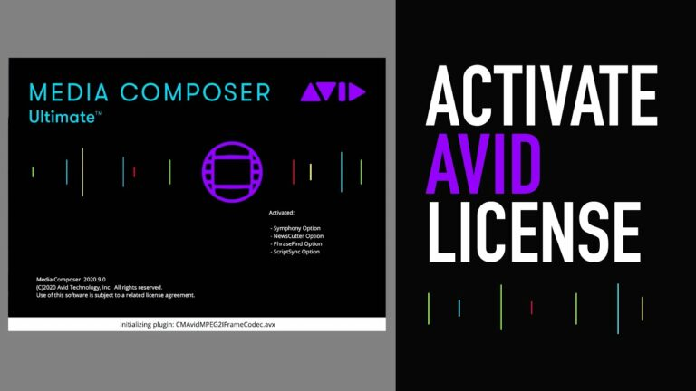 How to Activate an Avid License (via Auto-Activete ID)