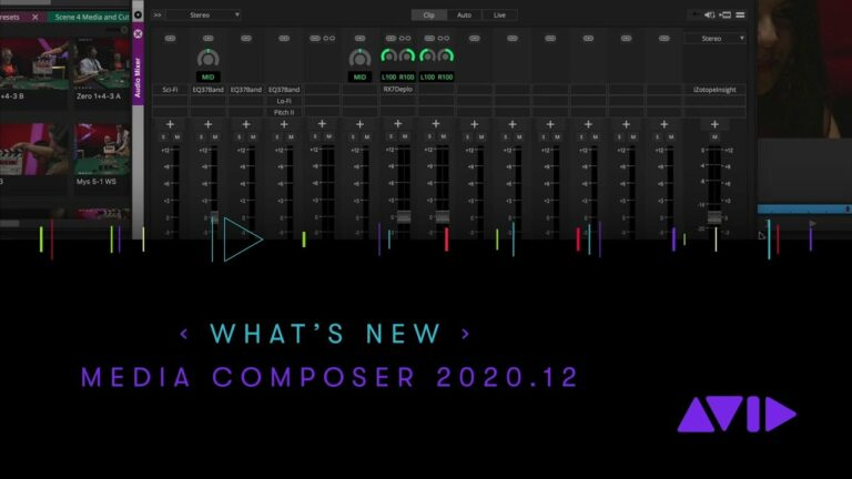 What's New in Avid Media Composer 2020.12