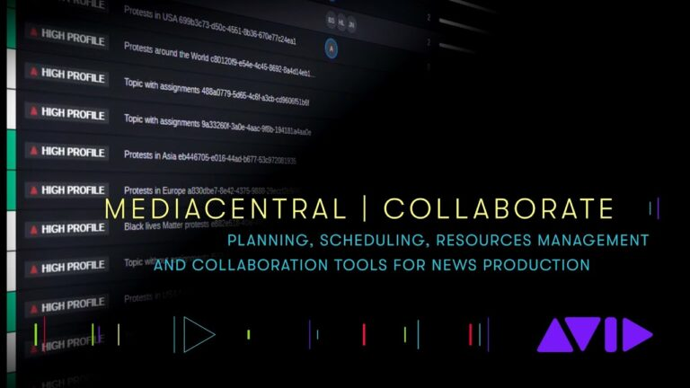 MediaCentral | Collaborate