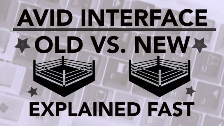 AVID Old vs. New Interface Explained Fast!
