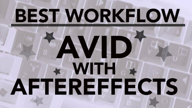 Best Avid To After Effects Workflow (It's Not What You Think)