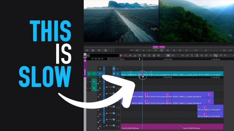 Edit Faster: 3 Timeline Features – Avid Media Composer Tutorial