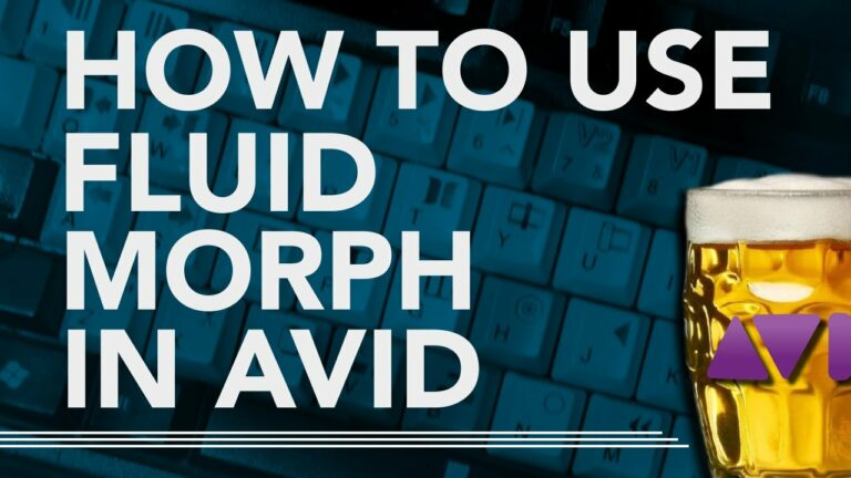 How To Use Fluid Morph in AVID