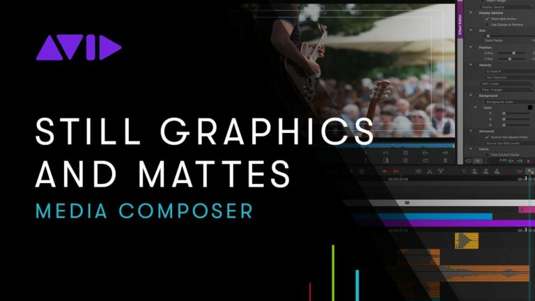 Media Composer: Working with Still Graphics and Mattes