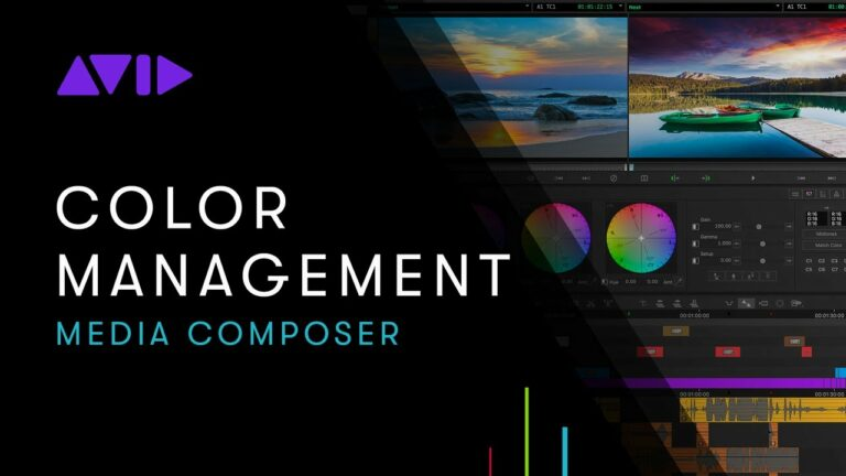 Online Learning — Media Composer: Color Management