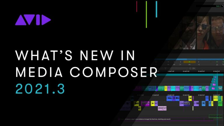 What's New in Avid Media Composer 2021.3