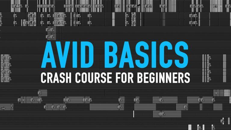 Avid for beginners! – Crash course in Avid Media Composer – 101 basic tutorial