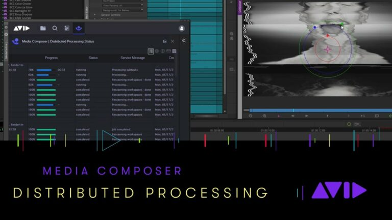 What's new in Media Composer | Distributed Processing 2021.6